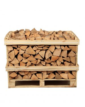 Half Crate Kiln-Dried Ash Logs