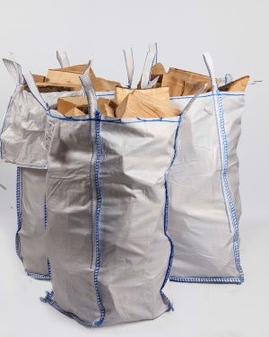 "Kiln-Dried Ash Logs - ""Bigger than a Tonne Bag"" bag"