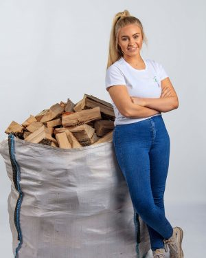 "Kiln-Dried Logs - ""Bigger Than a Tonne Bag"" bag"