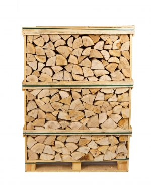 Kiln-Dried Ash Logs Large Crate