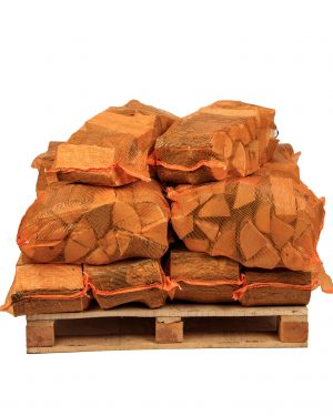 Kiln-Dried Oak Logs - 10 Extra Large Nets
